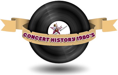 Concert History 1980s