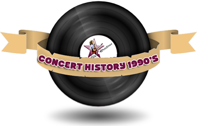 Concert History 1990s